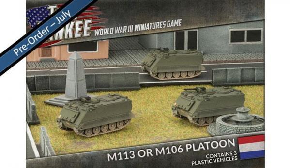 Flames Of War (Team Yankee): (Dutch) M113 or M106 Platoon (3)