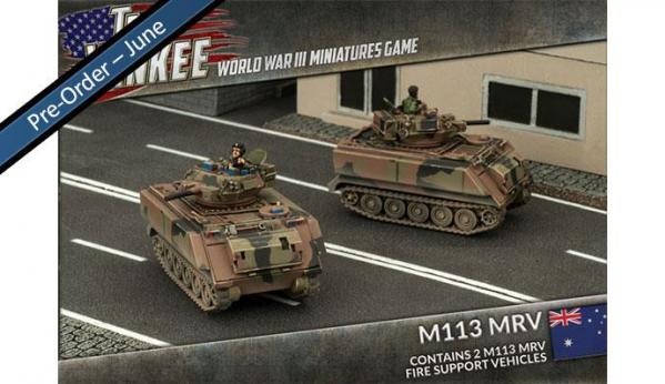 Flames Of War (Team Yankee): (Australian) M113 MRV (x2)