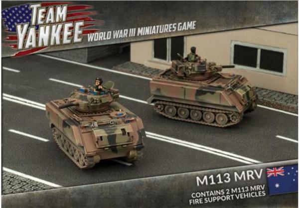 Team Yankee: (Australian) M113 MRV (x2)