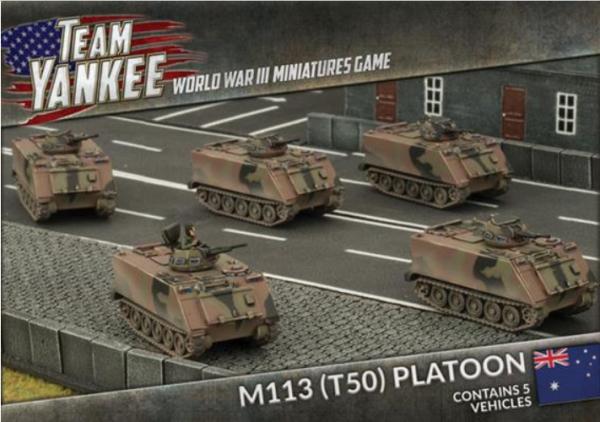 Team Yankee: (Australian) M113 (T50) Platoon (5)