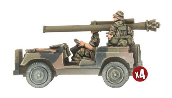 Team Yankee: (Australian) - Anti-tank Land Rover Section