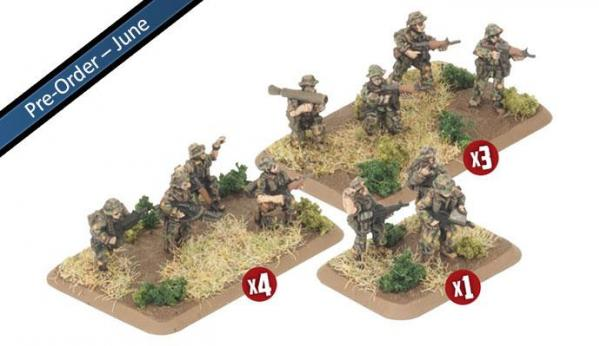 Flames of War: Team Yankee (Australian) - Mechanised Platoon