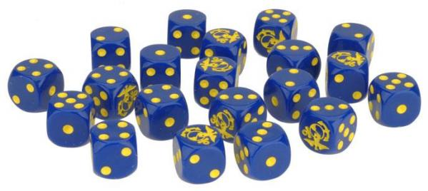 Flames Of War (Team Yankee): USMC Marine Dice Set (20)