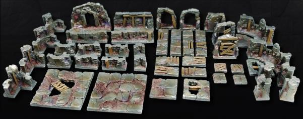 Tablescapes Realms, Caverns and Mines: Starter Set
