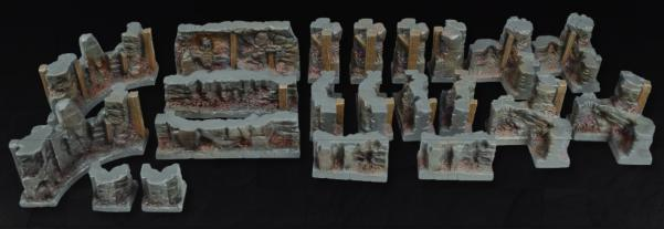 Tablescapes Realms, Caverns and Mines: Wall Set