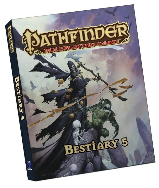Pathfinder RPG: Bestiary 5 (Pocket Edition)