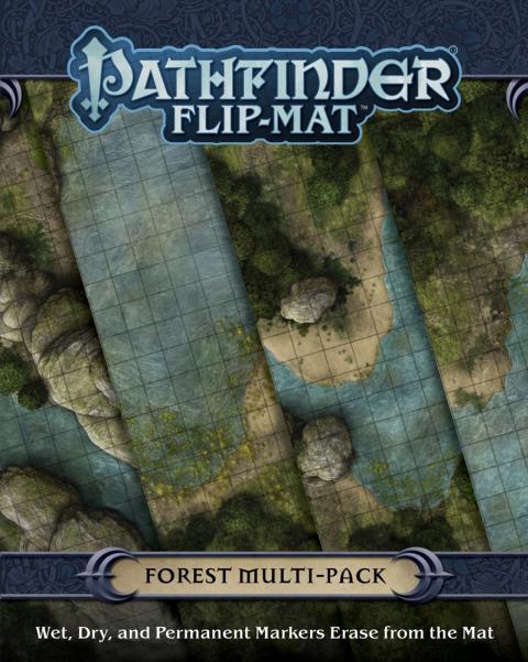 Pathfinder RPG: (Flip-Mat) Multi-Pack - Forests