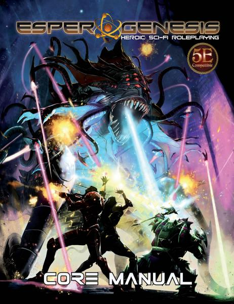 Esper Genesis: Core Manual (5E Compatible)