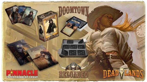 Doomtown: Reloaded Trunk with There Comes a Reckoning Expansion