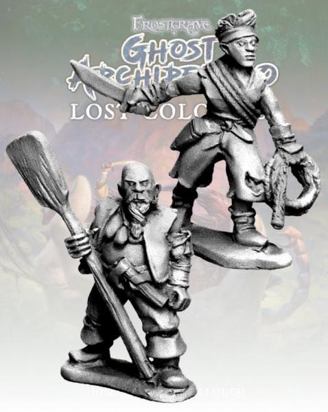 Frostgrave: Ghost Archipelago Bosun & Topman