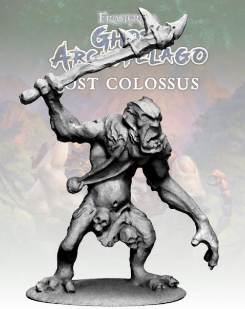 Frostgrave: Ghost Archipelago Island Troll