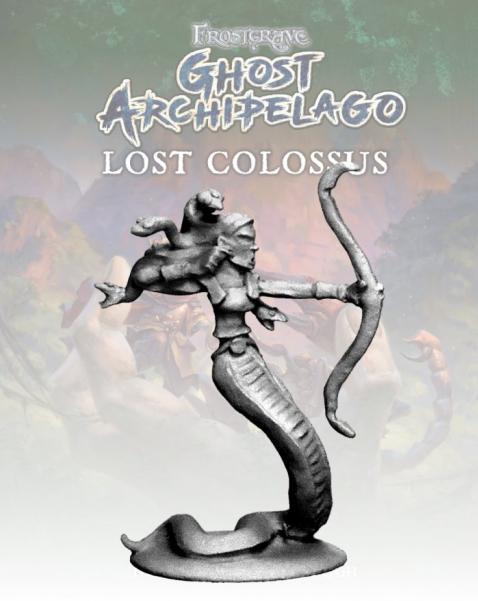 Frostgrave: Ghost Archipelago Gorgon