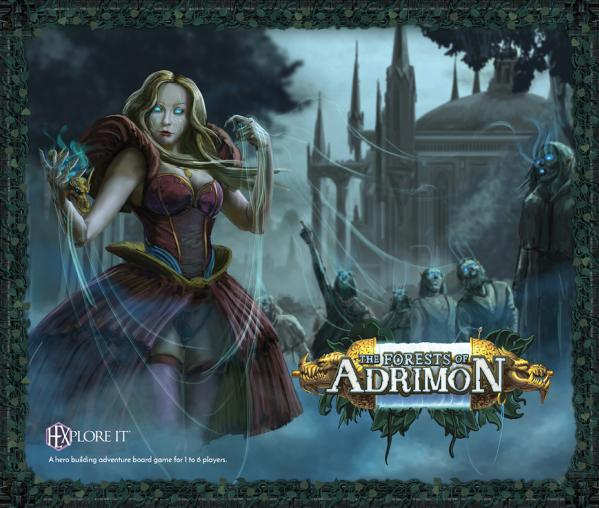 HEXplore It: The Forests of Adrimon (Stand Alone Expansion)