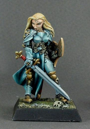Warlord: Finari, Female Justicar