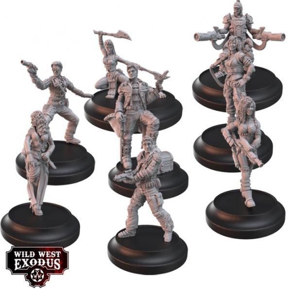 Wild West Exodus: Wayward Eight Posse