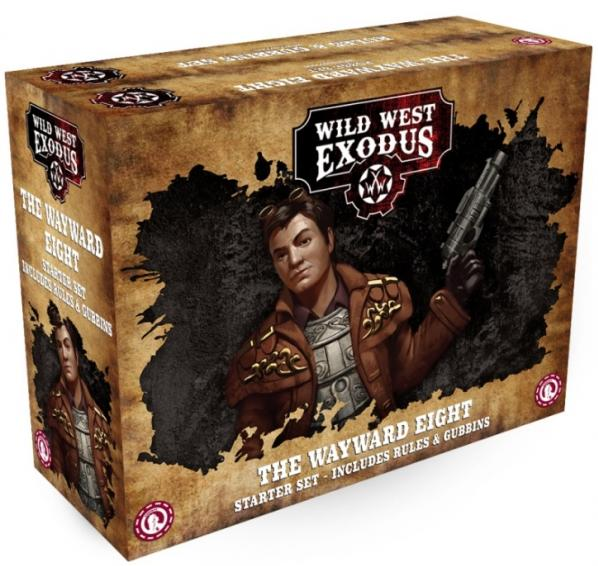 Wild West Exodus: Wayward Eight Starter Set