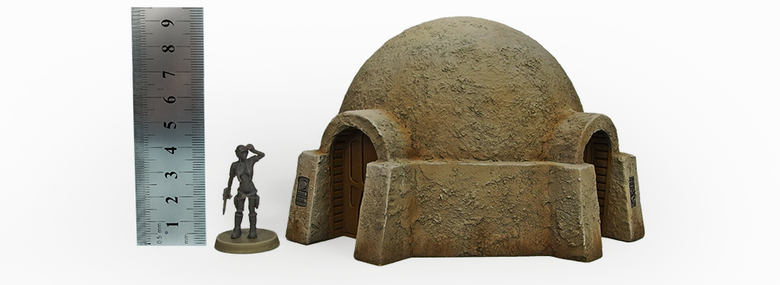 Micro Art Studio Terrain: Desert Habitat (Star Wars Legion compatible)