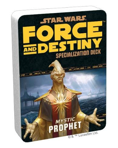 Force and Destiny RPG: Mystic Prophet Specialization Deck