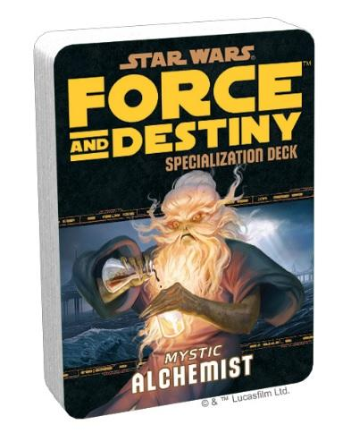 Force and Destiny RPG: Mystic Alchemist Specialization Deck