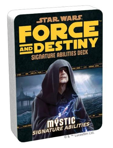 Force and Destiny RPG: Mystic Signature Abilities Deck