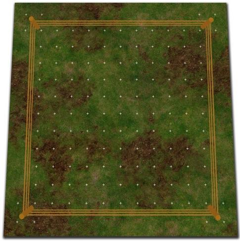 Game Play Mats: (RumbleSlam) Rumble Mat Grass