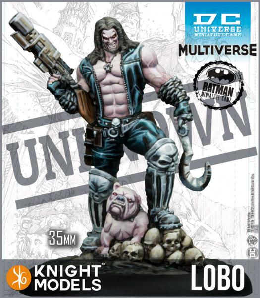 Batman Miniature Game: Lobo (Multiverse) (Resin)