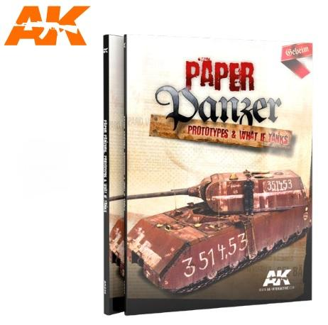 AK-Interactive: Paper Panzer - Prototypes & What if Tanks
