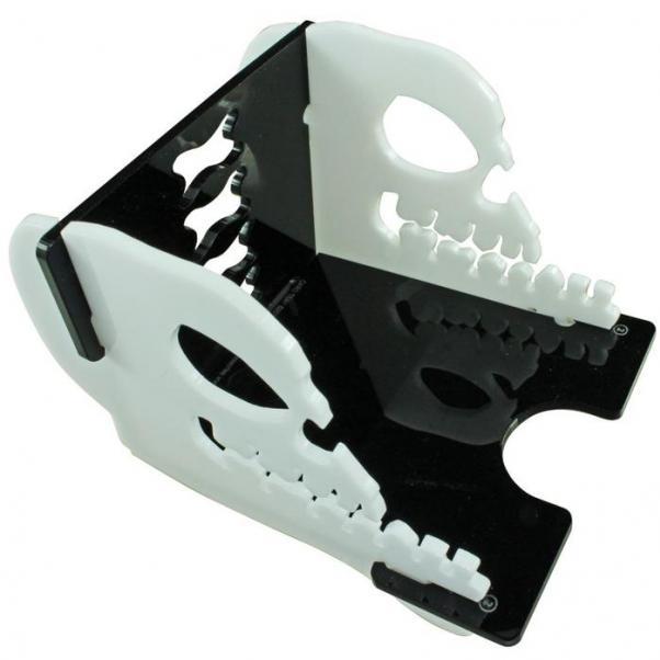 Skull Deck Tray (Medium, Holds 60-100 Standard US/Euro Sized Cards)