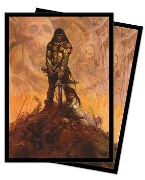Barbarian Standard Size Deck Protectors by Frank Frazetta 100ct