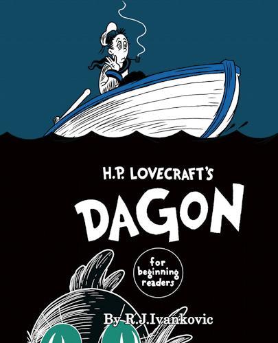 H.P. Lovecraft's: Dagon - For Beginning Readers