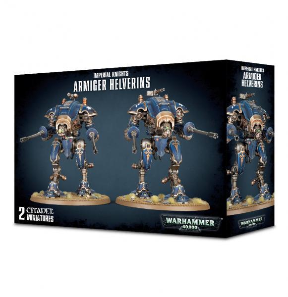 Warhammer 40K: Imperial Knights Armiger Helverins