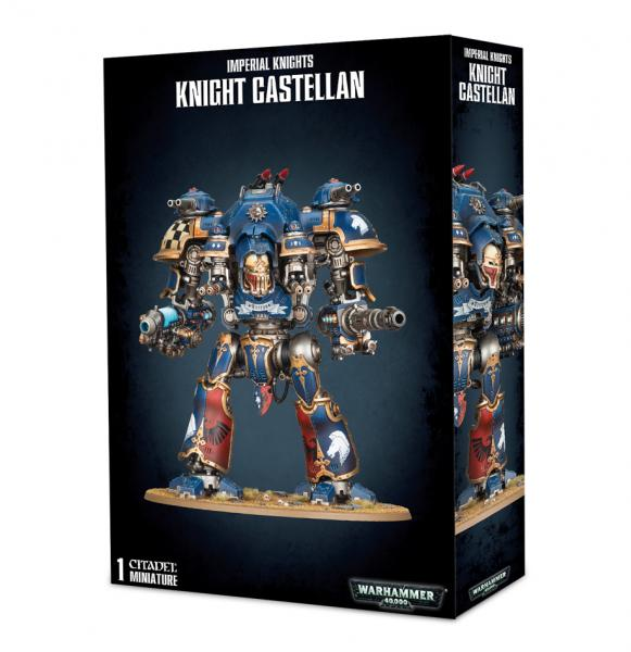Warhammer 40K: Imperial Knights - Knight Castellan