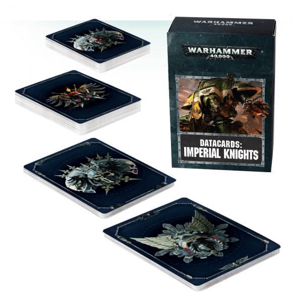 Warhammer 40K: Imperial Knights Datacards (2018)