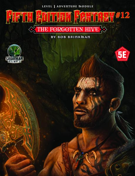 Dungeons & Dragons RPG: (Fifth Edition Fantasy) #12 The Forgotten Hive