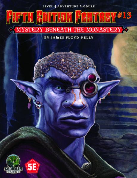Dungeons & Dragons RPG: (Fifth Edition Fantasy) #13: Mystery Beneath the Monastery