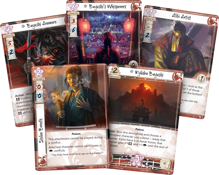 Legend of the Five Rings LCG: Underhand of the Emperor
