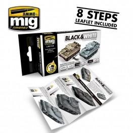 AMMO: Acrylic Paint Set - Black & White Technique Set