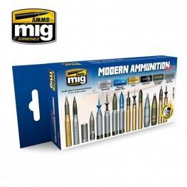 AMMO: Acrylic Paint Set - Modern Ammunition