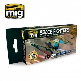 AMMO: Acrylic Paint Set - Space Fighters Sci-fi Colors