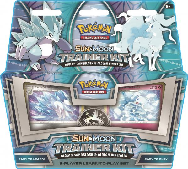 Pokemon CCG: Sun & Moon Trainer Kit - Alolan Sandslash & Alolan Ninetales