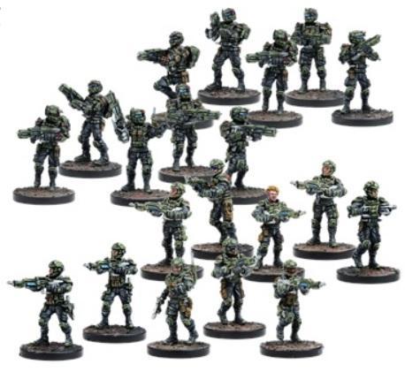 Warpath: GCPS Troopers