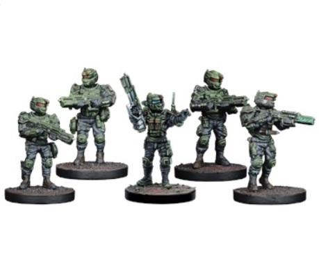 Warpath: GCPS Ranger Sniper/Tank Hunter Team