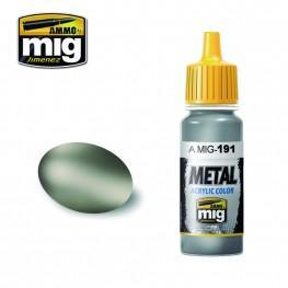 AMMO: Metal Acrylics - Steel (17ml)