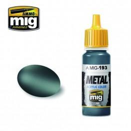 AMMO: Metal Acrylics - Bluish Titanium (17ml)