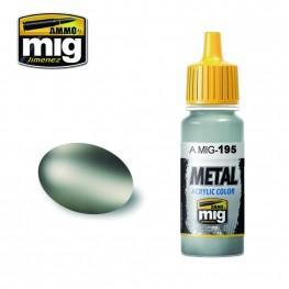 AMMO: Metal Acrylics - Silver (17ml)