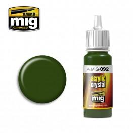 AMMO: Crystal Acrylics - Crystal Green (17ml)