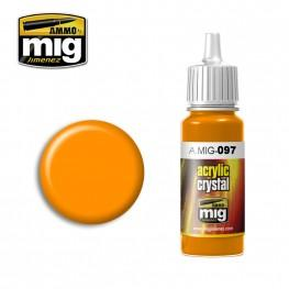 AMMO: Crystal Acrylics - Crystal Orange (17ml)