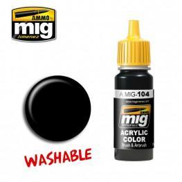 AMMO: Washable Paints - Black (17ml)