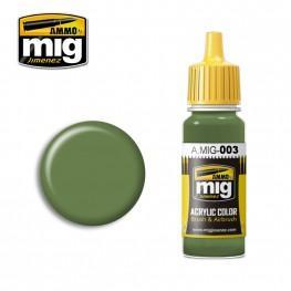 AMMO: Acrylic Paint - RAL 6011 Resedagrün (17ml)