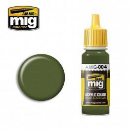 AMMO: Acrylic Paint - RAL 6011 B Resedagrün (17ml)